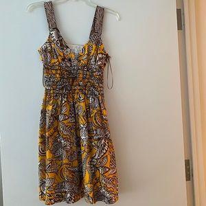 Trina Turk patterned silk dress
